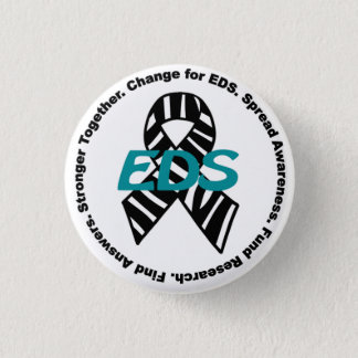 Ehlers-Danlosシンドロームの#ChangeForEDSの原因ボタン 3.2cm 丸型バッジ