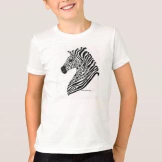 Ehlers Danlosシンドローム-シマウマはTシャツをからかいます Tシャツ
