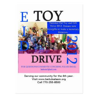 Eidのおもちゃドライブ2012年 ポストカード