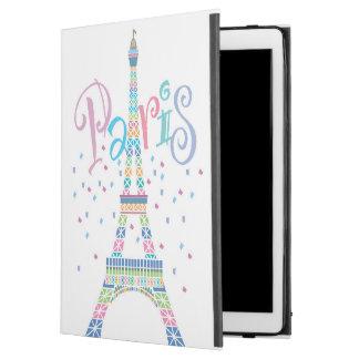 "Eiffel Tower Confetti iPad Pro Case iPad Pro 12.9"" ケース"