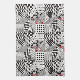 Eight-Point Quilters Square Kitchen Towel キッチンタオル