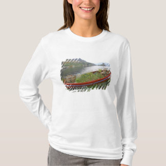 Eilean Donanの城、スコットランド。 有名なEilean 4 Tシャツ
