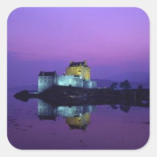 Eilean Donanの城、高地、スコットランド スクエアシール