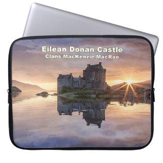 Eilean Donan -マッケンジーまたはMacRae ラップトップスリーブ