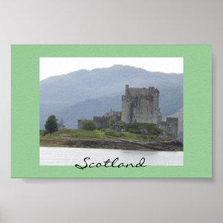Eileen Donanの城、スコットランド ポスター