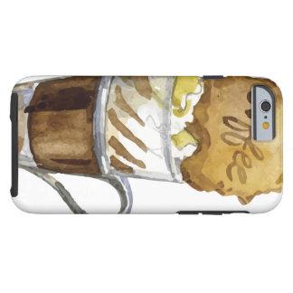 Eiskaffeeは堅いコーヒー飲み物のiPhone6ケースを-凍らしました ケース