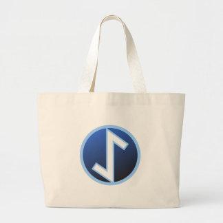 Eiwazのイチイ材のRune ラージトートバッグ