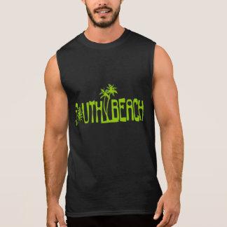 EKLEKTIXによる南ビーチのワイシャツ 袖なしシャツ