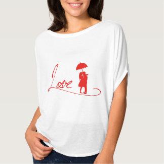 EKLEKTIXの女性のお洒落な上による愛 Tシャツ
