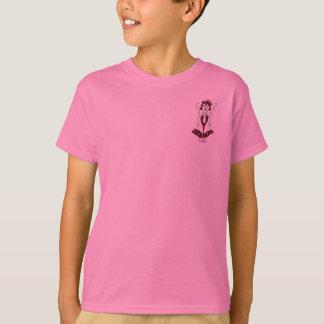 ekosの天使の歌う子供のTシャツ Tシャツ