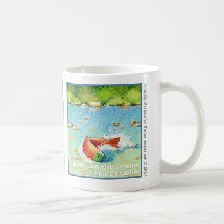 Elのサケ、taza de cafee コーヒーマグカップ