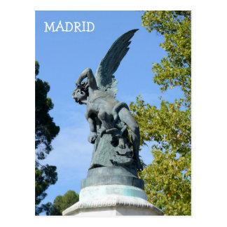 Elの天使CaidoのRetiro公園、マドリード ポストカード