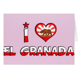 Elグラナダ、カリフォルニア カード