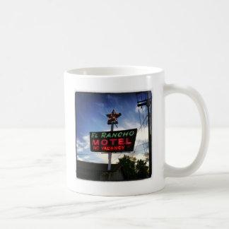 Elランチョのモーテル コーヒーマグカップ