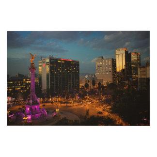 El Angel De Independenciaのメキシコ陸標 ウッドウォールアート