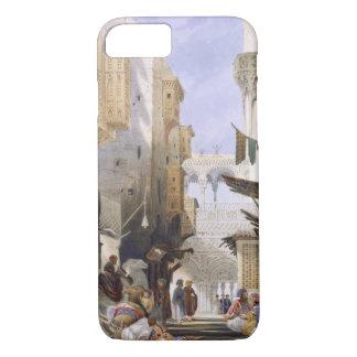El Azhar、壮大なカイロのパブに導く通り。 1846年 iPhone 8/7ケース