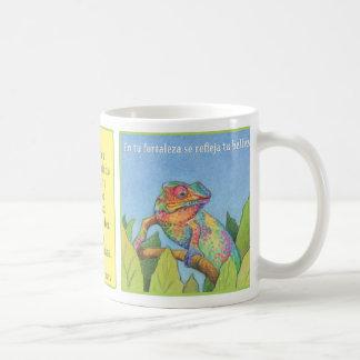 El Camaleón、taza de cafe? コーヒーマグカップ