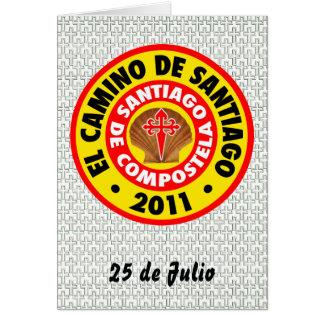 El Camino deサンティアゴ2011年 カード