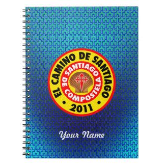 El Camino Deサンティアゴ2011年 ノートブック
