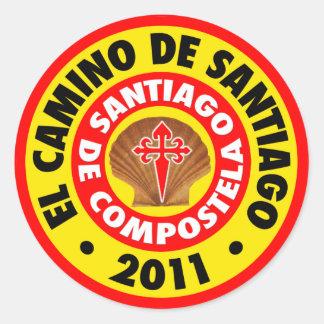 El Camino deサンティアゴ2011年 ラウンドシール
