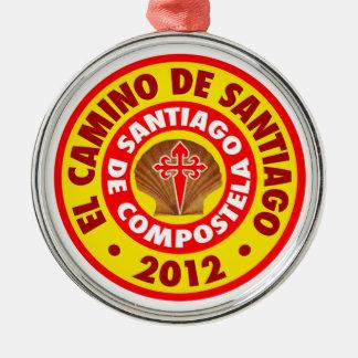 El Camino deサンティアゴ2012年 メタルオーナメント