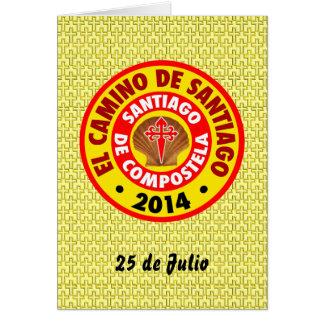 El Camino deサンティアゴ2014年 カード