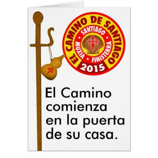 El Camino deサンティアゴ2015年 カード