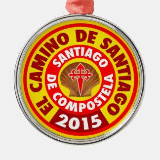 El Camino Deサンティアゴ2015年 メタルオーナメント