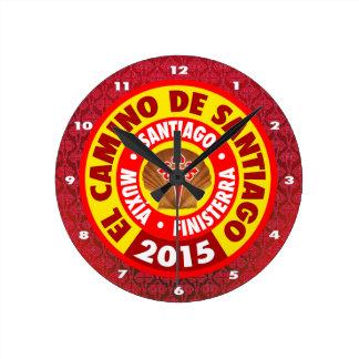 El Camino Deサンティアゴ2015年 ラウンド壁時計