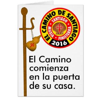 El Camino deサンティアゴ2016年 カード