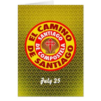El Camino deサンティアゴ カード
