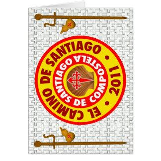 El Camino deサンティアゴ・デ・コンポステーラ2011年 カード