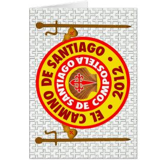 El Camino deサンティアゴ・デ・コンポステーラ2012年 カード