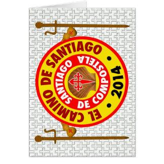 El Camino deサンティアゴ・デ・コンポステーラ2014年 カード