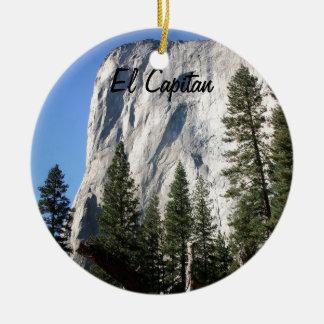 El Capitanのヨセミテ国立公園 セラミックオーナメント