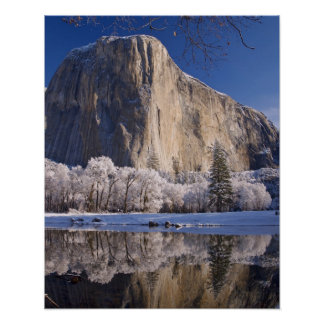 El Capitanは2のMercedの川に反映します ポスター