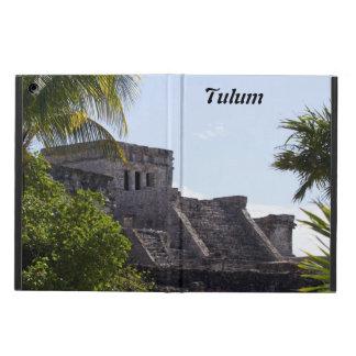 El Castillo de Tulum -マヤの台なし iPad Airケース