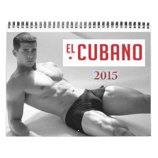 EL CUBANOの男性のカレンダー カレンダー