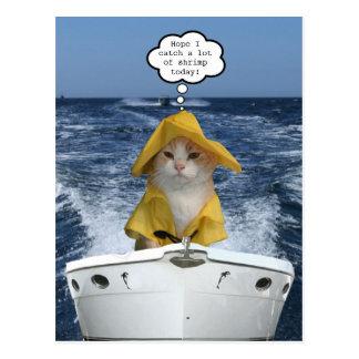 El Gatoの漁師(猫の漁師) ポストカード