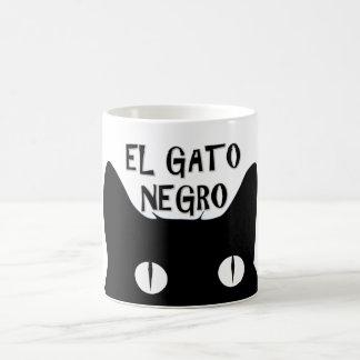 El Gatoの黒人-黒猫 コーヒーマグカップ