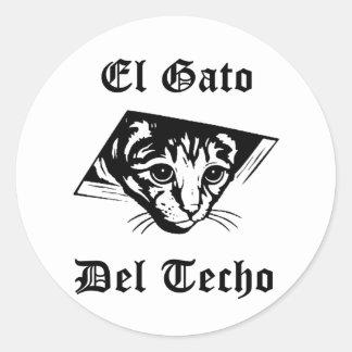El Gato Del Techo ラウンドシール