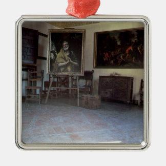 El Grecoのスタジオのインテリア メタルオーナメント
