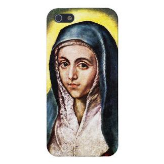 El Greco聖母マリアのiPhone 5の場合 iPhone 5 カバー