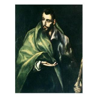 El Greco-の使徒セントジェームズより素晴らしいの ポストカード