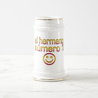 El Hermano Número 1 -スペイン語の第1兄弟 ビールジョッキ