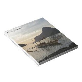 El Nidoフィリピンのメモ帳 ノートパッド
