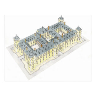 El Pardoの王宮。 マドリードスペイン ポストカード