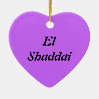 El Shaddai -すべてに十分な1 セラミックオーナメント