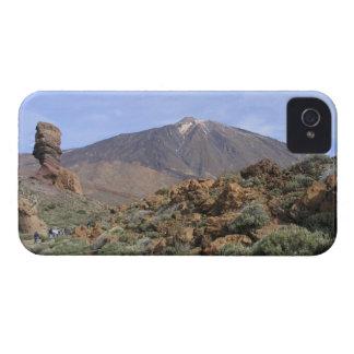 El Teideのカスタムなブラックベリーのはっきりしたな箱 Case-Mate iPhone 4 ケース