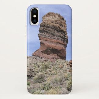 El Teideの電話箱 iPhone X ケース
